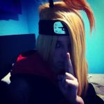 Deidara Cosplay #2 by NuclearZombie18