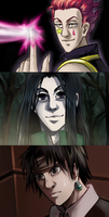 HxH screen redraws by VitaDiFata