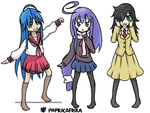 Anime Characters by PixelSoulResonance