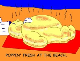 Poppin' Fresh At The Beach by AVRICCI