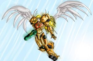 Samus - Final upgrade by Wing-Saber