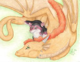 Dragons Make Good Bedfellows by SummonerWolf