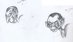 Goebbels Sketches by The-Pillbox
