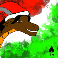 Quick after X-mas with Nava by Poorartman