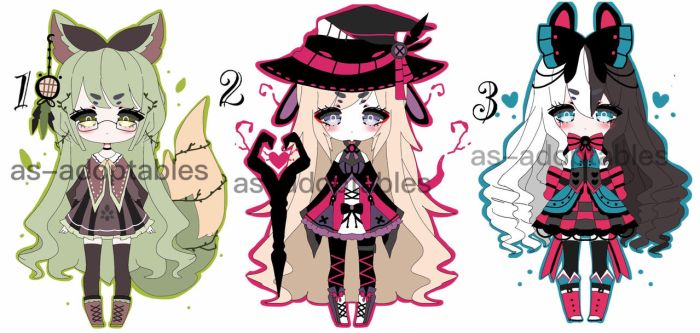 lucky  kemonomimi adoptable batch CLOSED by AS-Adoptables