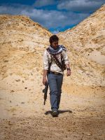 Nathan Drake Cosplay - Badlands by zahnpasta