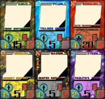 Layout for Card Game by The-Nameless-Poet