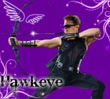 Hawkeye Wallpaper *Commission* by Chrisily