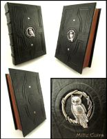 Owl book by MilleCuirs