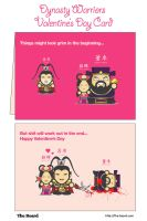 Dynasty Warriors Valentines Day Card by Boss2000
