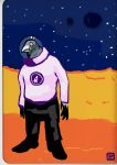 Space pigeon by Cigare-volant