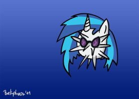 Sea Urchine Vinyl Scratch by shivanking