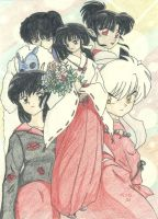 InuYasha Group by Aiookami