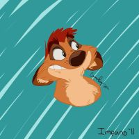 Timon in Bluthian Style by Impano
