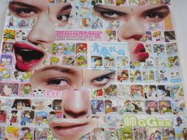 Collage faces by Thenextera