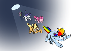 My Little Dashie 63 - Dash went home by petirep