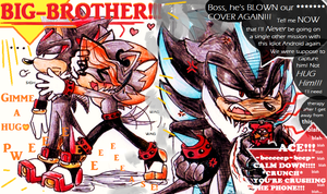 Brotherly love... or is it? by no1shadow