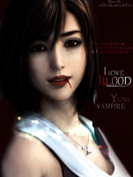 Yuna Vampire 'I Love You' by DenisseCroft