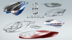 A Lincoln futuristic concept by Gilvany-Oliveira