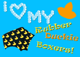 Rubber Duckie Boxers by Lilrxox