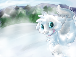 Walking in a Winter Wonderland by rainwolfeh