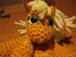 Mini Applejack Plushie Amigurumi 1 by RTakeshi