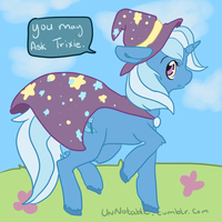 Trixie is best pon by alinoravanity