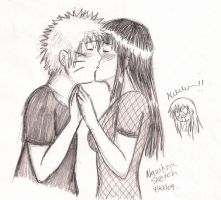 Naruhina Sketch i did today by shock777