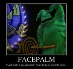 Oogie can do Facepalm too by Cindy-Brilliant