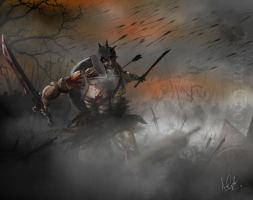 Battle in the fog by TheEpic1