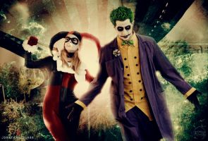Joker / Harley: Let's hunt some bats!! by Chaves87