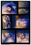 +PoM comic+ Don't want to sleep alone - Pg.1 by LeoKatana