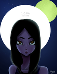 Aomame 1Q84 by Zoehi