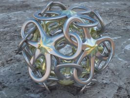 Interlocked Polyhedra Petals by LuxXeon