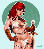 Red Sonja by MjGrainger