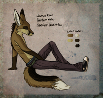 .::ref sheet- Ryan::. by SucittarSucivron