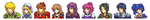 Fire Emblem Sprites Compilation by Rayhak