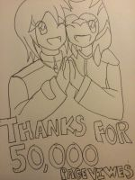Thanks for 50,000 pageviews!! by cardfightvanguard62