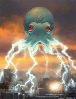 Squid Invaders by lkermel