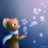 sending bubbles by Xinaug