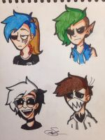 The 4 Killers (Gender Bender)   by Rocker2point0