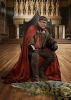 Uther Pendragon and His Daemon by LJ-Todd