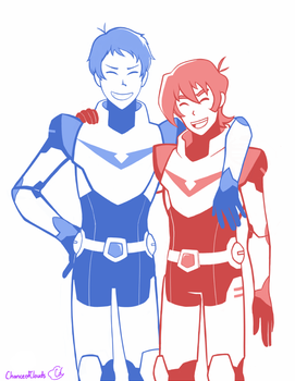 Klance by ChanceofClouds