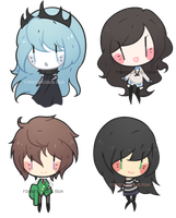 Prizes . Dollie Chibi Batch 3 by toastilie