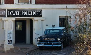 1953 Ford police car by finhead4ever