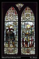 Bakewell Church Window rld 07 by richardldixon