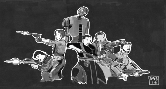 rogue one by moutonshield