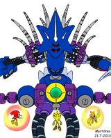 Sonic Heroes Final Boss by Mortdres