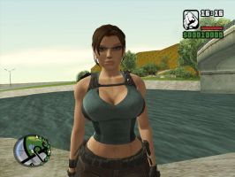 lara gta sa by michaelvr4