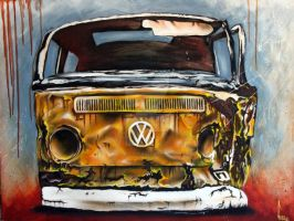 VW rust by DISCOFRISCO